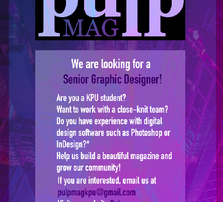 pulp is hiring a senior graphics editor!